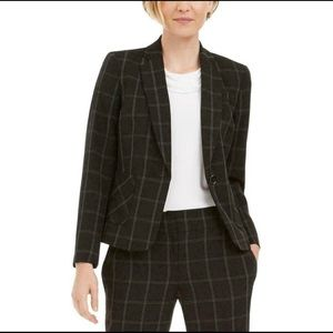 NWT Kasper Black/White Window Pane Blazer | 6